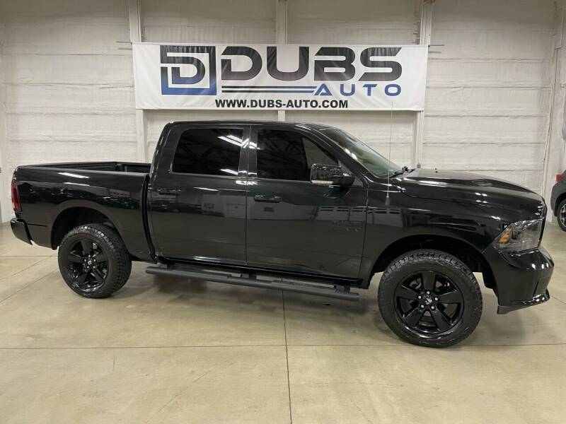 2016 RAM Ram Pickup 1500 for sale at DUBS AUTO LLC in Clearfield UT