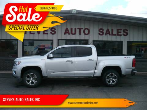 2016 Chevrolet Colorado for sale at STEVE'S AUTO SALES INC in Scottsbluff NE
