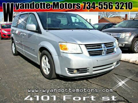 2009 Dodge Grand Caravan for sale at Wyandotte Motors in Wyandotte MI