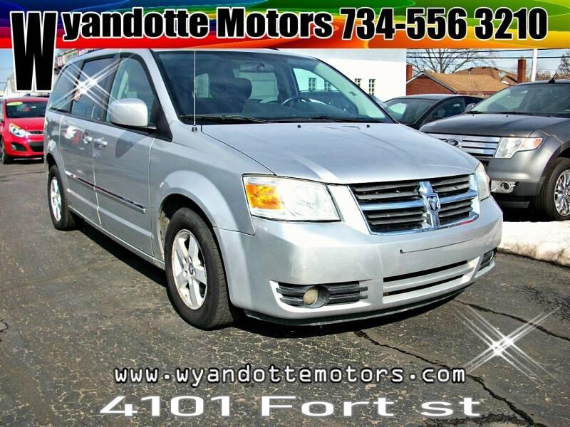 2009 Dodge Grand Caravan for sale at Wyandotte Motors in Wyandotte MI