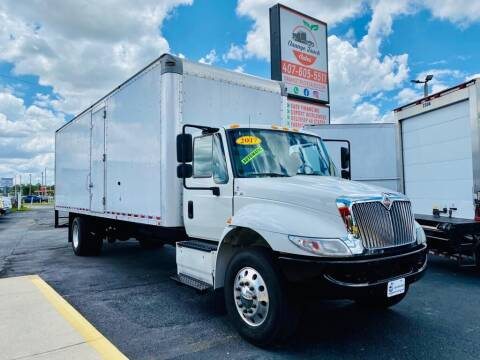 2017 International 4300 for sale at Orange Truck Sales in Orlando FL
