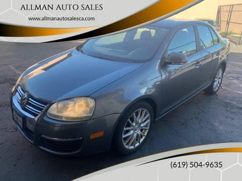 2008 Volkswagen Jetta for sale at ALLMAN AUTO SALES in San Diego CA