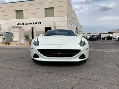 2016 Ferrari California T for sale at Auto Center Of Las Vegas in Las Vegas NV