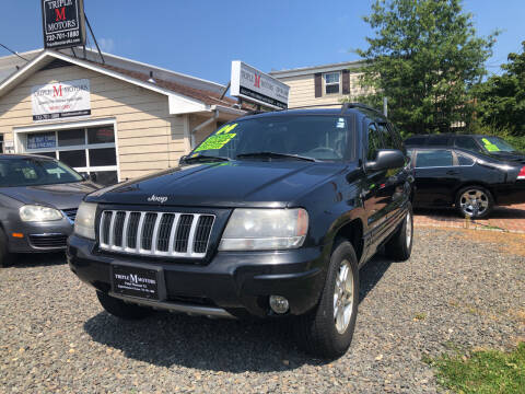 2004 Jeep Grand Cherokee for sale at Triple M Motors in Point Pleasant NJ