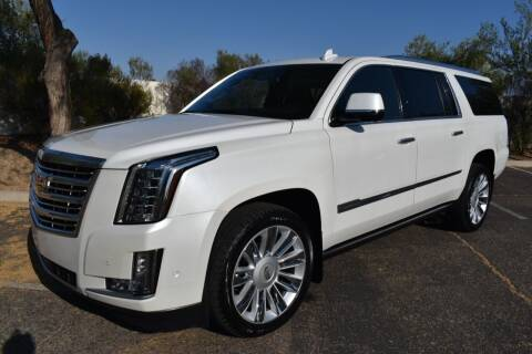 2017 Cadillac Escalade ESV for sale at AMERICAN LEASING & SALES in Tempe AZ