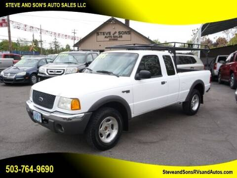 2001 Ford Ranger for sale at Steve & Sons Auto Sales in Happy Valley OR