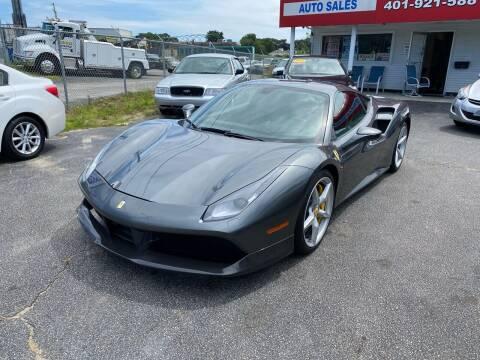 2018 Ferrari 488 GTB for sale at Sandy Lane Auto Sales and Repair in Warwick RI
