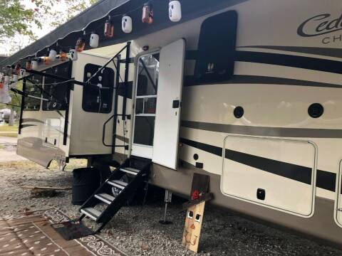 2018 Forest River Cedar Creek Champagne 38EL for sale at RV Wheelator in North America AZ