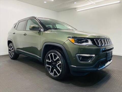 2019 Jeep Compass for sale at Champagne Motor Car Company in Willimantic CT