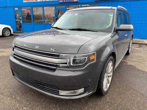2019 Ford Flex for sale at M-97 Auto Dealer in Roseville MI