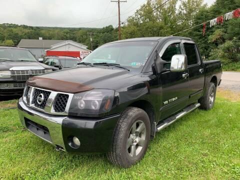 2005 Nissan Titan for sale at GMG AUTO SALES in Scranton PA