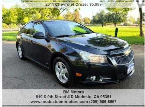 2011 Chevrolet Cruze for sale at BM Motors in Modesto CA