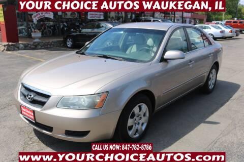 2008 Hyundai Sonata for sale at Your Choice Autos - Waukegan in Waukegan IL