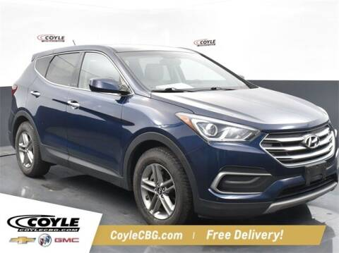 2018 Hyundai Santa Fe Sport for sale at COYLE GM - COYLE NISSAN - New Inventory in Clarksville IN