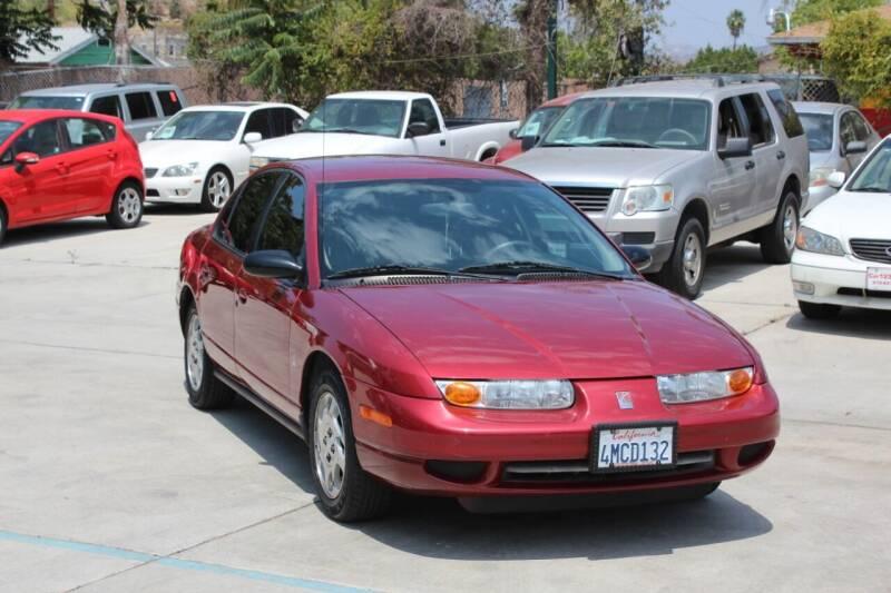 2000 Saturn S-Series for sale at Car 1234 inc in El Cajon CA