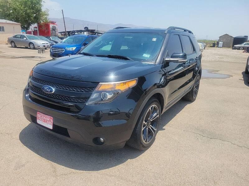 2015 Ford Explorer for sale at Bickham Used Cars in Alamogordo NM