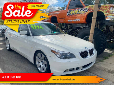 2007 BMW 5 Series for sale at A & R Used Cars in Clayton NJ