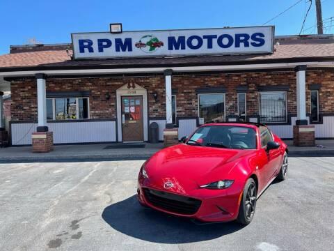 2017 Mazda MX-5 Miata RF for sale at RPM Motors in Nashville TN