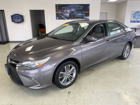 2015 Toyota Camry for sale at Used Car Outlet in Bloomington IL