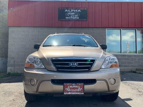 2008 Kia Sorento for sale at Alpha Motors in Chicago IL