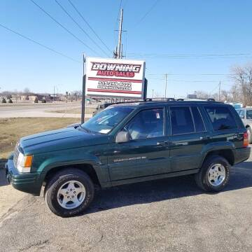 1998 Jeep Grand Cherokee for sale at Downing Auto Sales in Des Moines IA