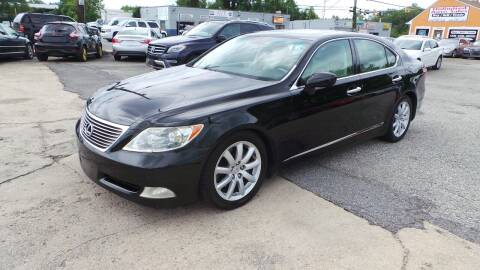 2007 Lexus LS 460 for sale at Unlimited Auto Sales in Upper Marlboro MD