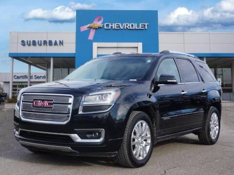 2015 GMC Acadia for sale at Suburban Chevrolet of Ann Arbor in Ann Arbor MI