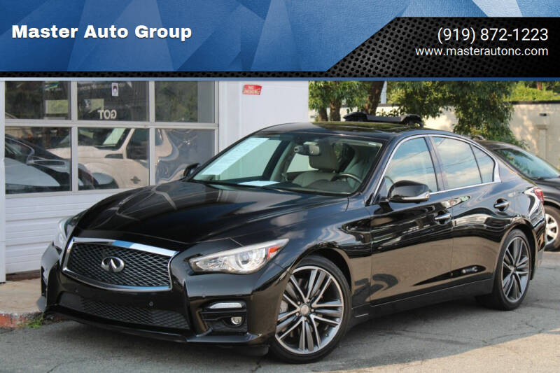 2014 Infiniti Q50 for sale at Master Auto Group in Raleigh NC