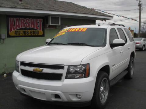 2013 Chevrolet Tahoe for sale at Karsnet in Joplin MO