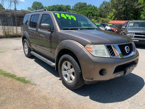 2008 Nissan Pathfinder for sale at Super Wheels-N-Deals in Memphis TN
