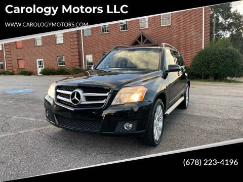 2010 Mercedes-Benz GLK for sale at Carology Motors LLC in Marietta GA