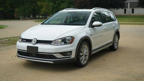 2017 Volkswagen Golf Alltrack for sale at Grand Financial Inc in Solon OH