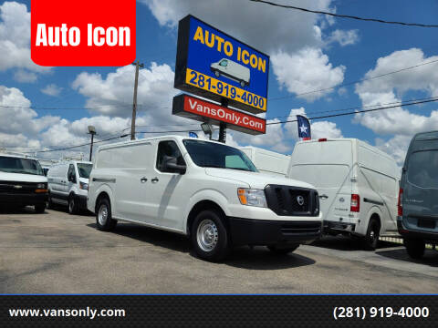 2020 Nissan NV Cargo for sale at Auto Icon in Houston TX