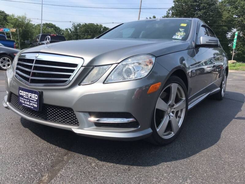 2012 Mercedes-Benz E-Class for sale at Certified Auto Exchange in Keyport NJ
