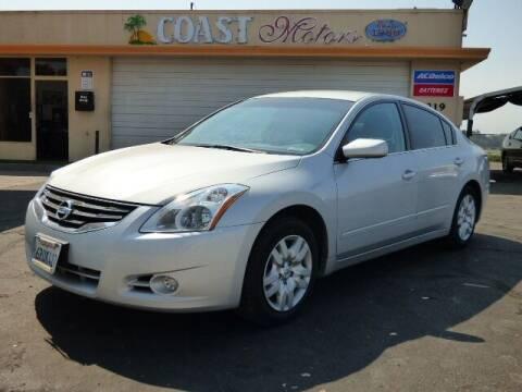 2011 Nissan Altima for sale at Coast Motors in Arroyo Grande CA