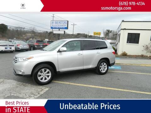 2011 Toyota Highlander for sale at S & S Motors in Marietta GA