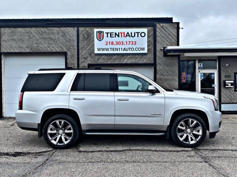 2016 GMC Yukon for sale at Ten 11 Auto LLC in Dilworth MN