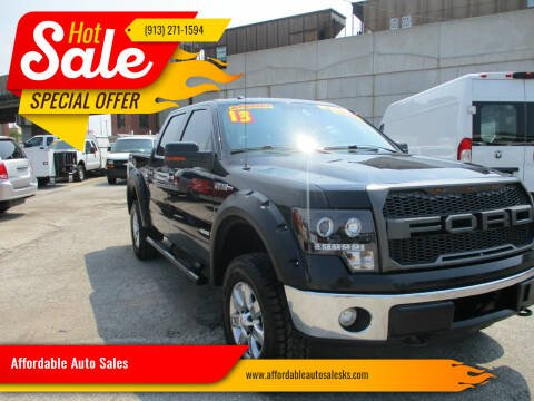 2013 Ford F-150 for sale at Affordable Auto Sales in Olathe KS