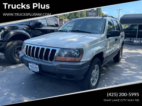 2001 Jeep Grand Cherokee for sale at Trucks Plus in Seattle WA