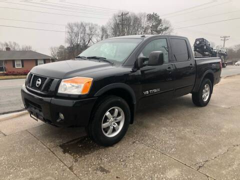 2009 Nissan Titan for sale at E Motors LLC in Anderson SC