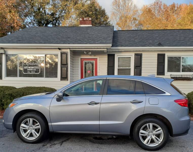2014 Acura RDX for sale at SIGNATURES AUTOMOTIVE GROUP LLC in Spartanburg SC
