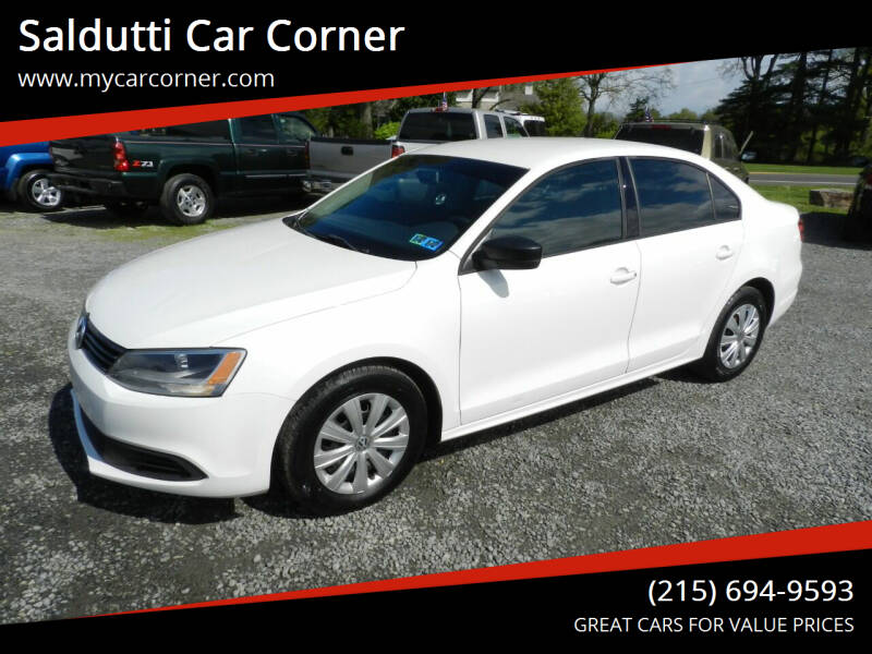 2011 Volkswagen Jetta for sale at Saldutti Car Corner in Gilbertsville PA