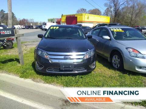 2010 Ford Fusion for sale at Marino's Auto Sales in Laurel DE