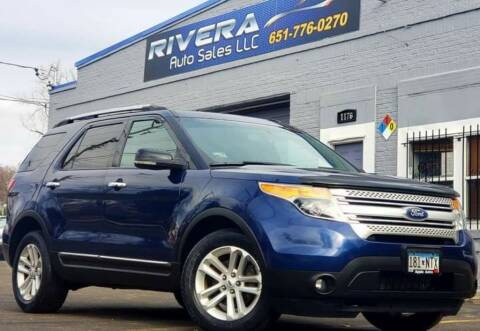 2012 Ford Explorer for sale at Rivera Auto Sales LLC in Saint Paul MN
