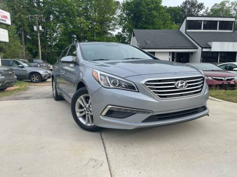 2015 Hyundai Sonata for sale at Alpha Car Land LLC in Snellville GA