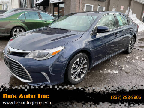 2016 Toyota Avalon for sale at Bos Auto Inc in Quincy MA