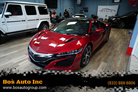 2017 Acura NSX for sale at Bos Auto Inc in Quincy MA