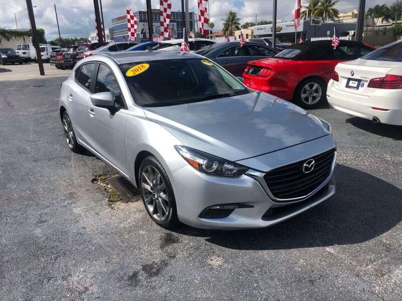 2018 Mazda MAZDA3 for sale at MACHADO AUTO SALES in Miami FL