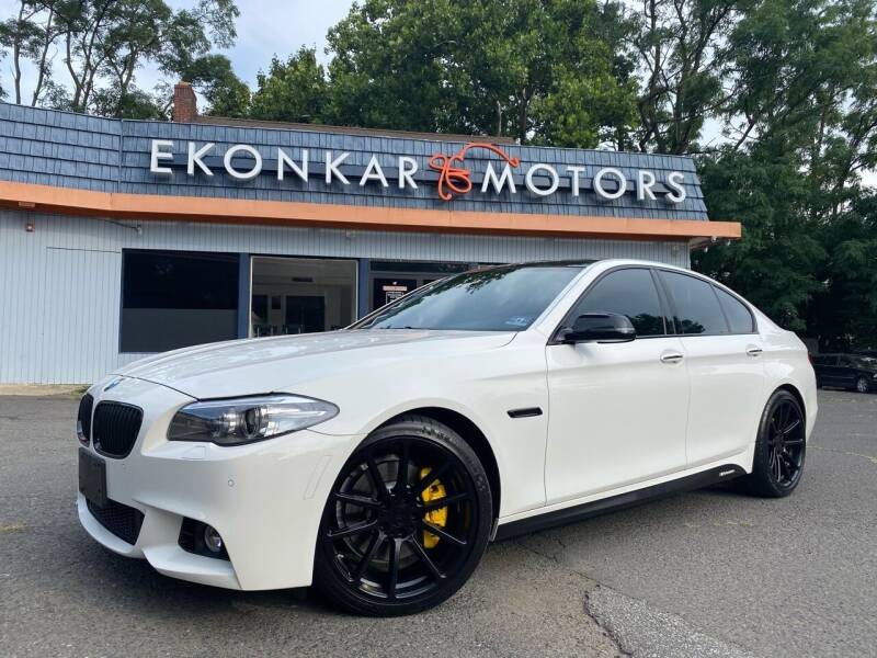 2014 BMW 5 Series for sale at Ekonkar Motors in Scotch Plains NJ