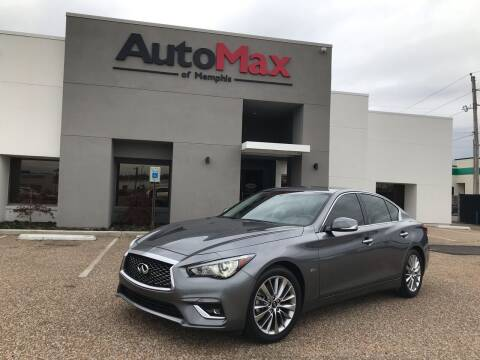 2018 Infiniti Q50 for sale at AutoMax of Memphis in Memphis TN